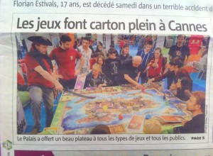 Nice matin Cannes, 04.03.2013