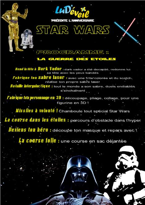 nos 10 id es de jeux pour un anniversaire star wars r ussi lud 39 veil. Black Bedroom Furniture Sets. Home Design Ideas